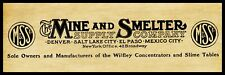 """New listing 1911 Mine & Smelter Supply Co. New Metal Sign 6""""x18"""" Free Shipping"""