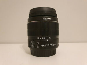 Canon EF-S 18-55mm f/3.5-5.6 IS Lens II Lens - Excellent Condition