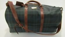 NWOT 90's Polo Ralph Lauren Blackwatch Plaid Duffle Bag, Great Cond. Free Ship