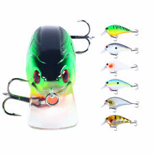 6pcs/set Swimbait 8.5cm/15g Minnow Fishing Lure Hook Tackle Bait Bass Wobbler
