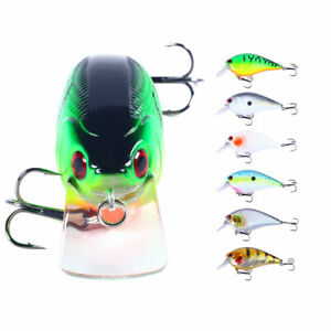 6pcs/set Swimbait 8.5cm/15g Minnow Fishing Lure Hook Tackle Bait Bass Wobbler