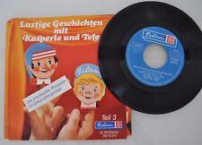 Bahlsen Vinyl Single Lustige Geschichten Kasperle und Tete Teil 3 Schallplatte