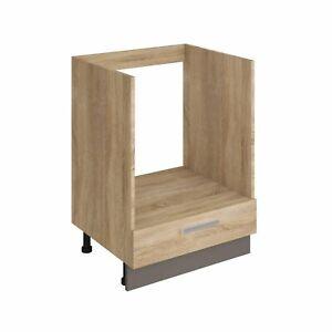 Herdumbauschrank ALINA 60 cm Küchenschrank Küche Einbauküche Sonoma Eiche NEU