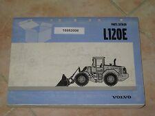 Ersatzteilliste Volvo Radlader L120E Parts Catalog Ersatzteilkatalog spare parts
