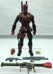 "Marvel Legends Deadpool Juggernaut Build-A-Figure Series 6"" Figure 2016 X-MEN."