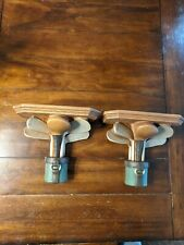 Set of 2 Shelves Small Wall Mounted Golf Clubs Pattern