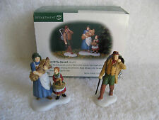 Dept 56 - New England - Best Of The Harvest - New - Set of 2 - Rare - #56647