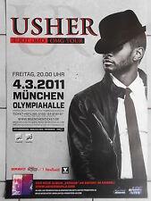 USHER  2011  MÜNCHEN    orig.Concert-Konzert-Tour-Poster-Plakat DIN A1
