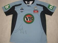 JARRYD HAYNE Hand Signed NSW State Of Origin Jersey + Photo Proof
