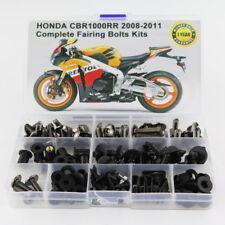 Steel Fairing Bolts Screws Fasteners Kit For Honda CBR1000RR 2008-2011 Titanium