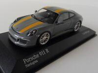 Porsche 911 R 2016 1/43 Minichamps 410066232 991 NARDOGREY YELLOW 504pcs.