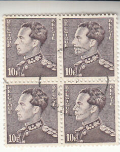Belgium 1936-51. 10f  King Leopold III. SG#768. Used