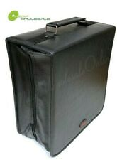 400 Discs Portable CD DVD Organizer Storage Koskin Wallet Holder Bag Case Album