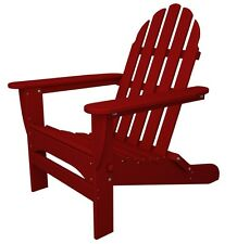 POLYWOOD AD5030-SR Classic Folding Adirondack in Sunset Red NEW