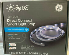"C by GE Full Color Direct Connect Smart Light Strip + Power Supply 80"" Dimmable"