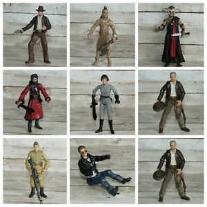 """Indiana Jones Movie  3.75"""" Toy Figures ~ Harrison Ford ~ Heroes & Villains"""