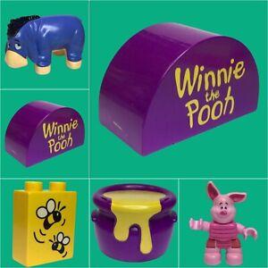 Lego Duplo Winnie Puuh Figuren Ersatzteile Zubehör 5946 zum Auswählen    #D4