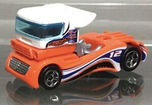 MINT LOOSE 2001 Hot Wheels Victory Lane Gift Pack Exclusive orange Semi-Fast