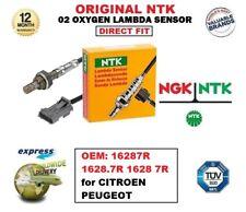 NGK NTK O2 Sauerstoff Lambdasensor OEM: 16287R 1628.7R 1628 7R für Citroen