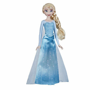 Disney Frozen Shimmer Elsa Fashion Doll, Skirt, Shoes and Long Blonde Hair
