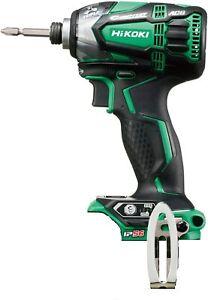 Hitachi Impact Driver Green 18V Body Only WH18DDL2(NN)(L) JAPAN