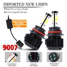 4side 9007 HB5 LED Headlight Bulb HI LOW BEAM Super Bright 1800W 270000LM CANBus