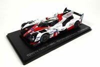 Toyota TS050 HYBRID #8 Model Car 1/43 GAZOO Racing 8th Le Mans 2017
