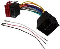 Rallonge 20cm connecteur fiche ISO 16PIN 8+8 pour autoradio précâblée enceintes