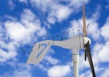 400W Watt DC 12V/24V Wind Turbine Generator with Hybrid Controller Home System