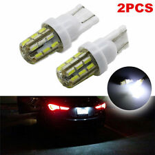 2 X Xenon White 24-SMD T10 168 194 2825 Car LED Bulbs  License Plate Lights KY