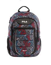 0f3413549f FILA Argus II Filatech Laptop Backpack Red blue black School Bag