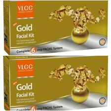 Lot of 2 VLCC New Gold Facial Kit 60 gm each Free Shipping