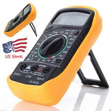 XL-830L Handheld LCD Digital Multimeter 3 1/2 Voltmeter Ohmmeter Multitester US