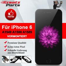 """Für iPhone 6 4,7"""" Display LCD mit RETINA VORMONTIERT Glas Komplett Front SHCWRAZ"""