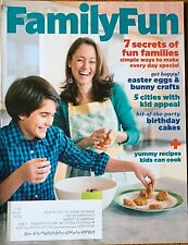 FAMILY FUN Magazine March 2013 Easter Crafts Birthday Cakes Cities Kids Travel