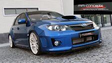 Spoilerlippe Subaru Impreza WRX STI Frontspoiler Spoiler Ansatz Schwert schwarz