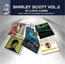 Shirley Scott-6 Classic Albums Vol2  (UK IMPORT)  CD NEW