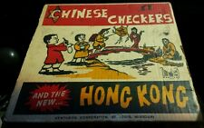 VINTAGE CHINESE CHECKERS AND THE NEW... HONG KONG/KENTHEON CORPORATION ST. LOUIS