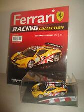 FERRARI 458 ITALIA GT2 LE MANS 2011 RACING  CON FASCICOLO FABBRI EDITORE 1:43