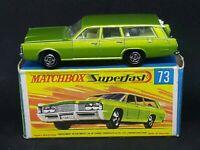 Matchbox MB73-A1 Superfast - Mercury Commuter in Type G Box