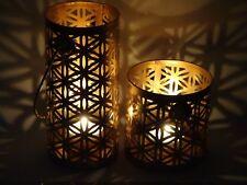 """Teelichthalter """"Blume des Lebens"""" Laterne Licht Kerze"""