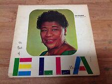 Ella Fitzgerald Greatest Hits Lp *Signed Autographed Rare