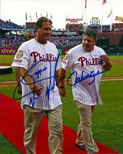 John Kruk and Darren Daulton Autographed Phillies 8 x 10 Photo 3