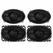 """Pioneer 2 PAIRS TS-G4620S 4"""" x 6"""" 400W Max / 60W RMS 2-Way Coaxial Car Speakers"""