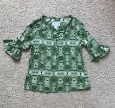 Old Navy Girls Blouse Size M 3/4 Sleeve