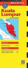 PERIPLUS TRAVEL MAP KUALA LUMPUR MALAYSIA