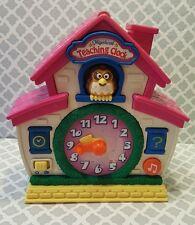 Musical Teaching Clock Light Up Toys
