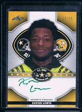 2015 Army All American GREEN INK /25 XAVIER LEWIS LSU TIGERS