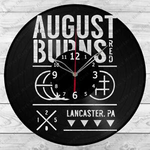 Vinyl Clock August Burns Red Record Wall Clock Home Art Decor Handmade 7017