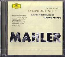Claudio ABBADO: MAHLER Symphony No.6 Berliner Philhamoniker CD 2005 NEU